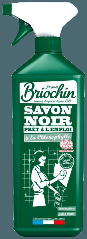 Briochin Černé mýdlo s vůní chlorofylu s rozprašovačem, 750ml