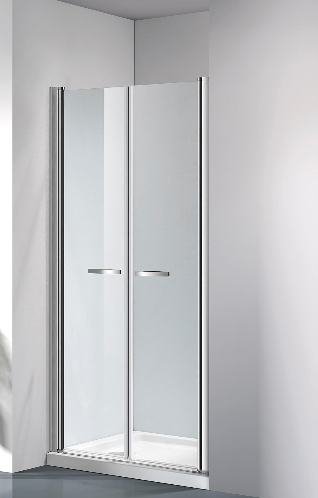 ARTTEC COMFORT 116-121 grape NEW - Sprchové dveře do niky