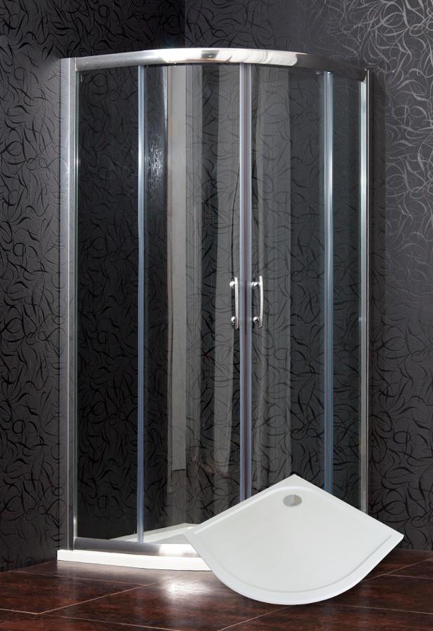 ARTTEC BRILIANT 90 clear NEW set s vaničkou a panelem POLARIS 9090RS PAN04585