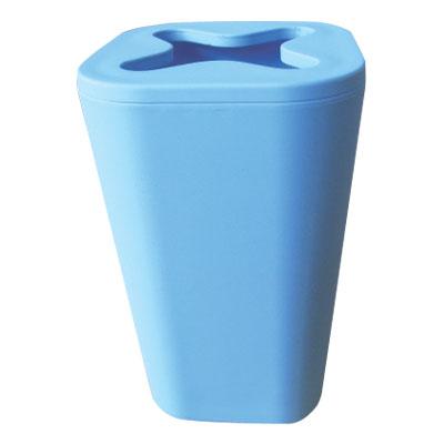ARTTEC Kelímek na kartáčky a pastu - MONACO - plastic + rubber - blue