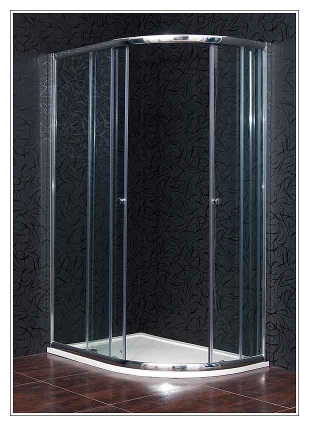 ARTTEC KLASIK 80x120 clear NEW - Sprchová zástěna čtvrtkruhová