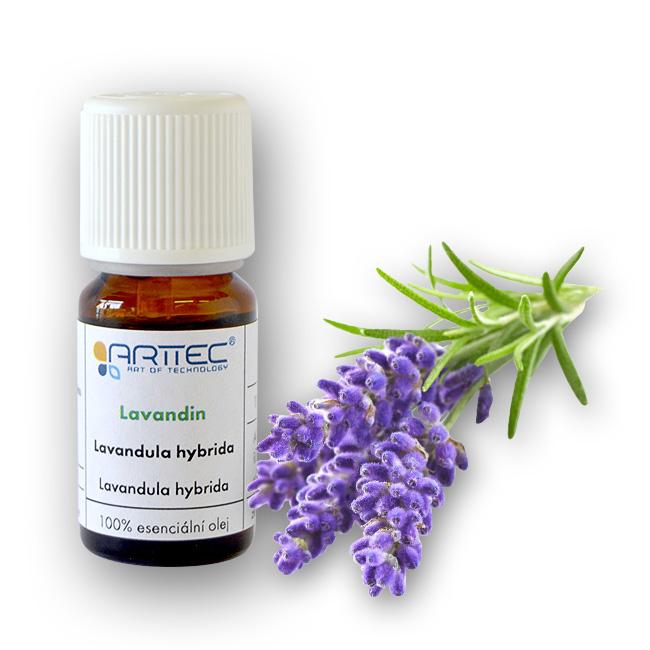 ARTTEC Lavandin super de Provence bio Esenciální olej 10 ml NAT00011