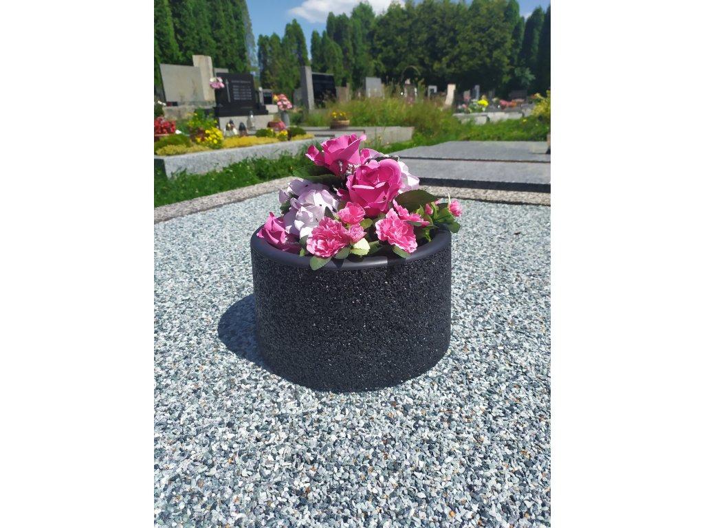 Hřbitovní mísa černá