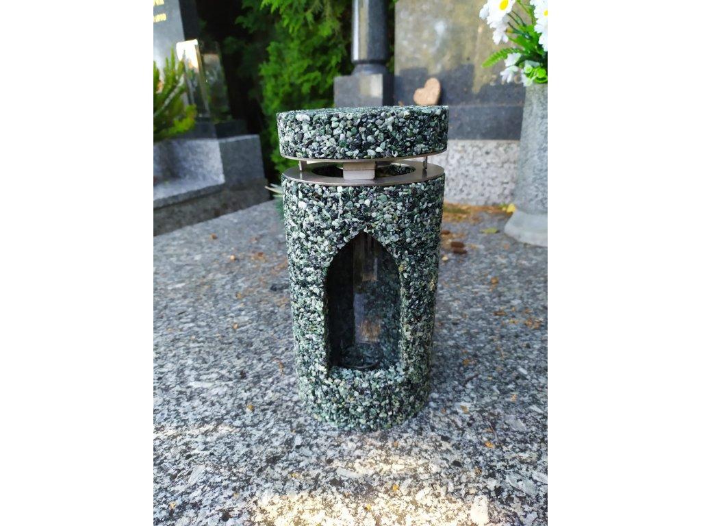 Hřbitovní Svítilna Green Olive Happiness lucerna