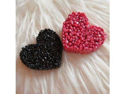 Malé Srdce dekorační červené