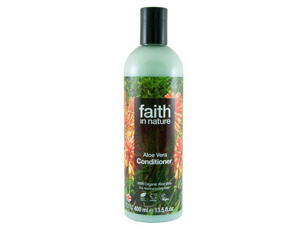 přírodní kondicionér bez silikonů, veganský šampon faith in nature