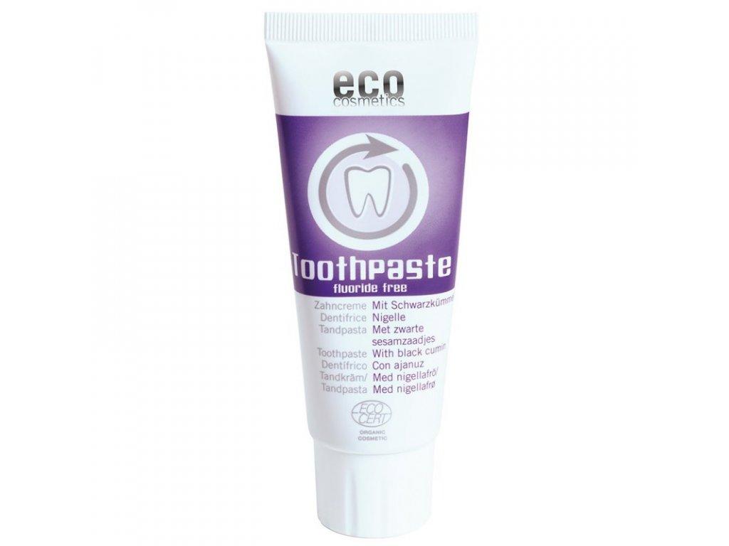 EcoCosmetics Zubní pasta s černuchou vegan