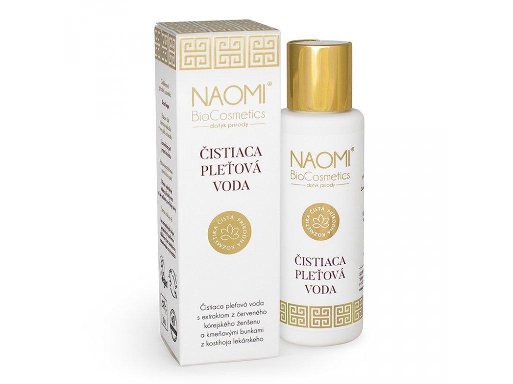 Bio veganská pleťová voda Naomi BioCosmetics, organická kosmetika