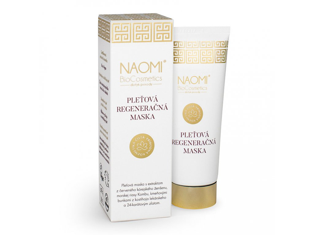 Bio veganská pleťová maska Naomi BioCosmetics, organická kosmetika