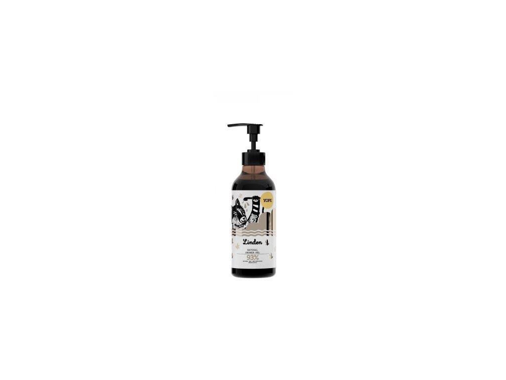 Yope Sprchový gel květ lípy, přírodní kosmetika aryama