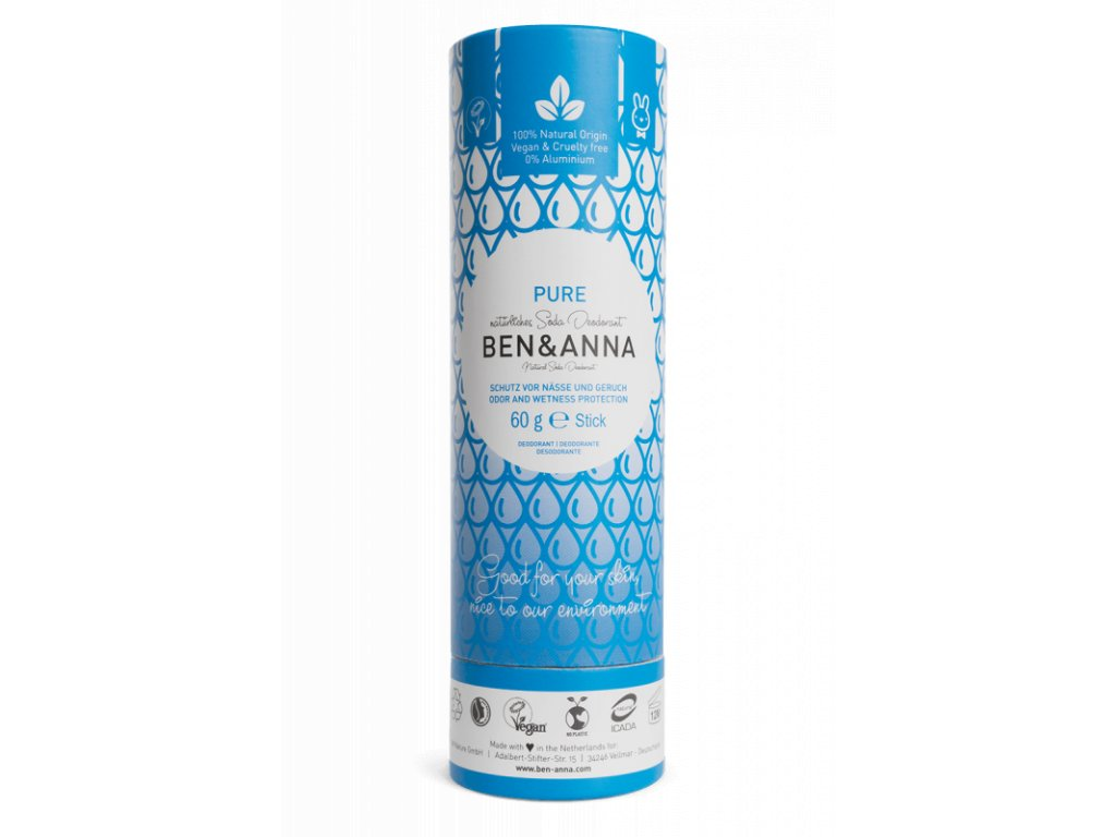 tuhý deodorant přírodni ben a anna