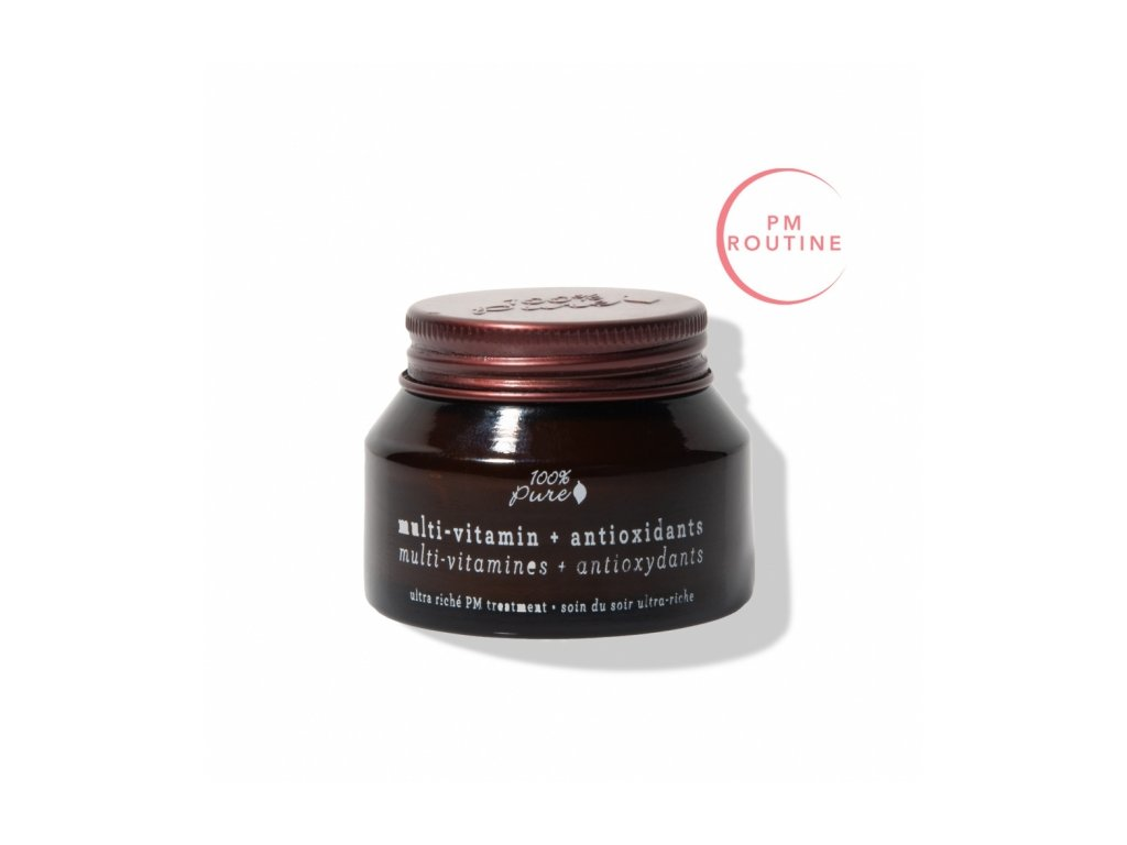 100 pure pleťový noční krém s antioxidanty