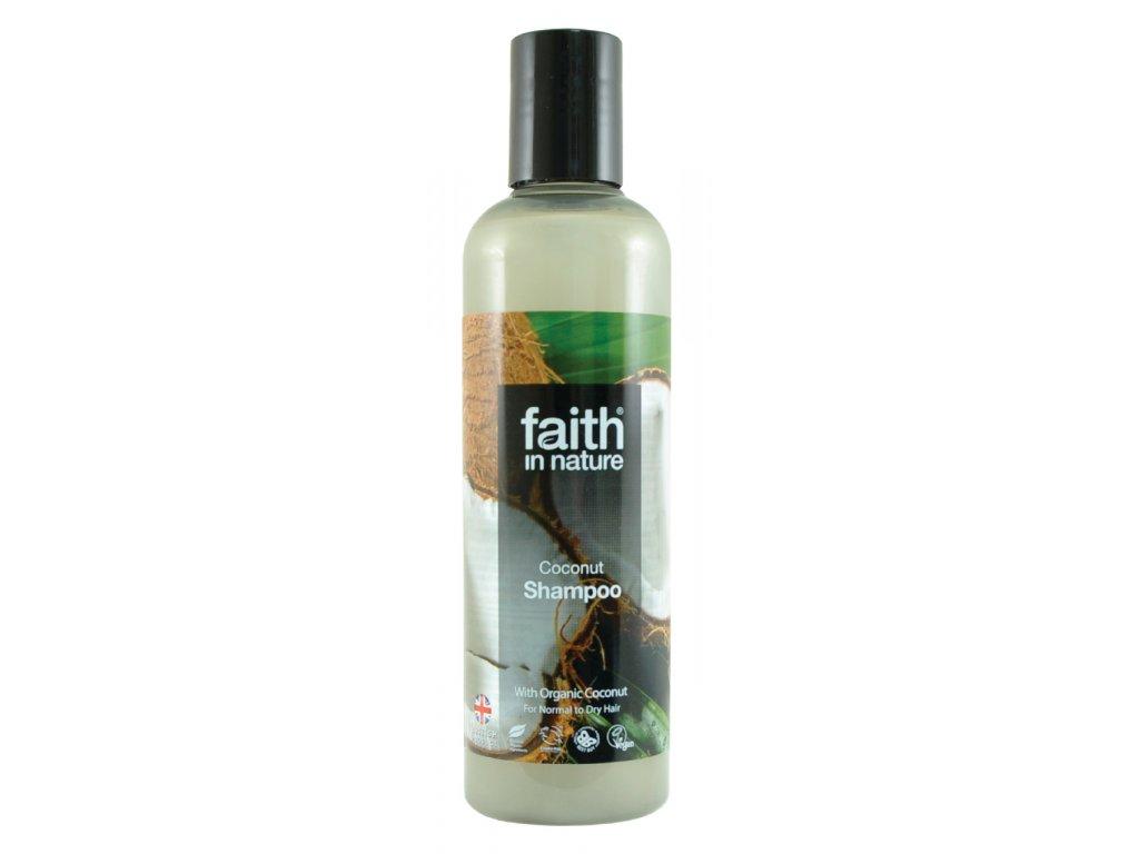 faith in nature eko kokosový šampon vegan