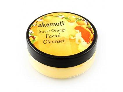 přírodní kosmetika akamuti, veganský pleťový krém čistící