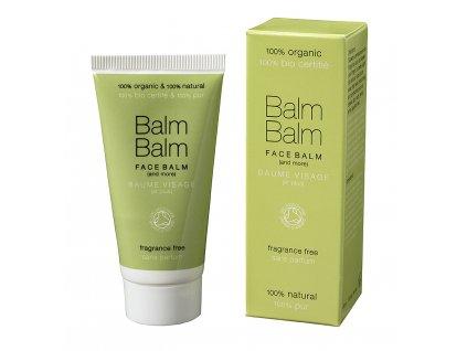 přírodní krém bez parfemace, balm balm veganská bio kosmetika
