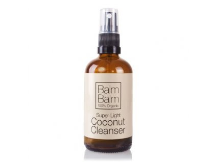 Balm Balm kokosový clenaser, přírodní pleťová voda veganská