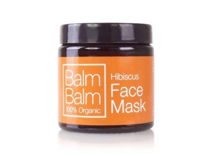 Balm Balm pleťová maska s ibiškem, přírodní veganská kosmetika