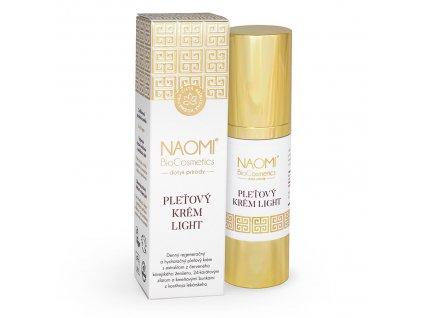 Bio veganský pleťový krem Naomi BioCosmetics, organická kosmetika
