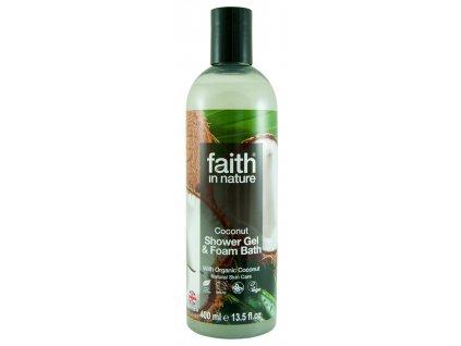 faith in nature eko kokosový sprchový gel vegan