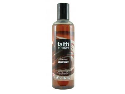 Faith in nature eko čokoládový šampón veganský