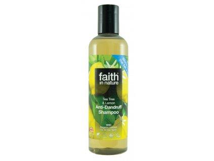faith in nature tea tree a citron eko šampón vegan