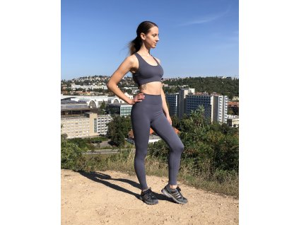 fitness set na jogu, legíny