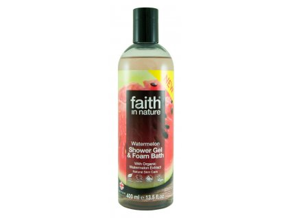 faith in nature eko melounový sprchový gel vegan
