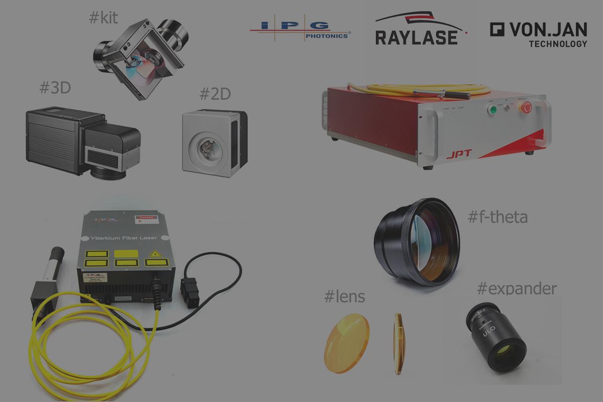 Laserové komponenty