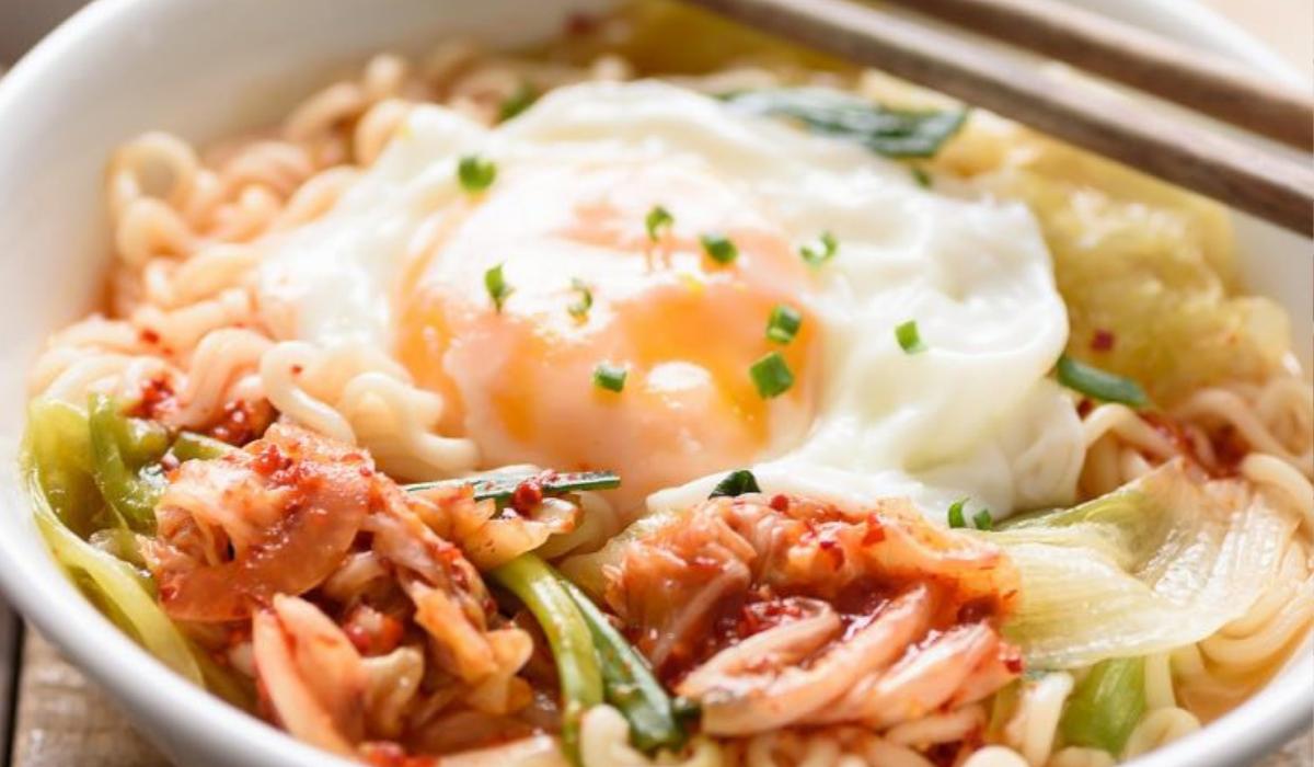 Kimchi vejce