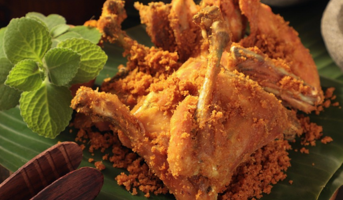 Smažené kuře Malajsie