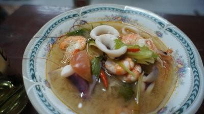 Tom Yum Kung polévka