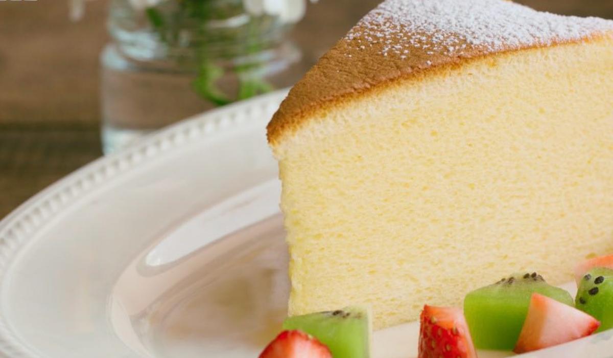 Japonský pečený dort
