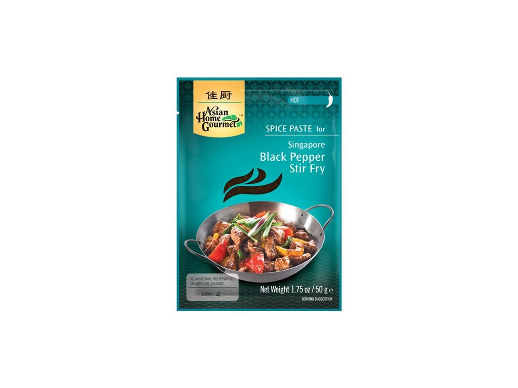 Singapore Black Pepper Stir-Fry 50 G