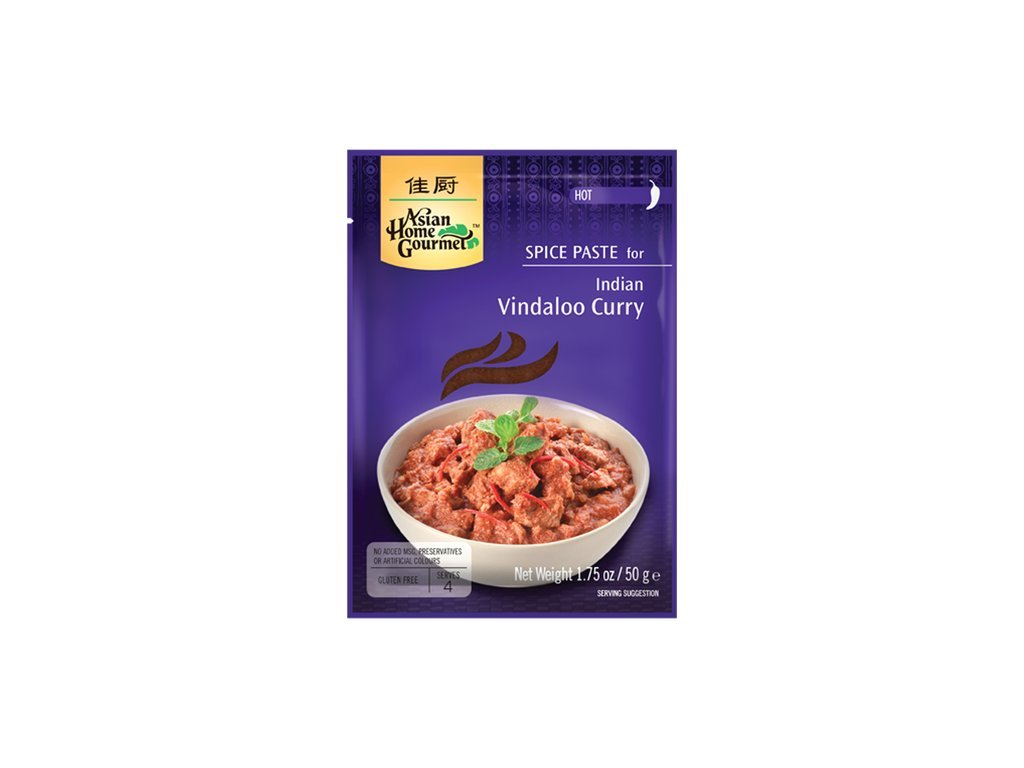 Vindaloo Kari pasta 50 g Asian Home Gourmet