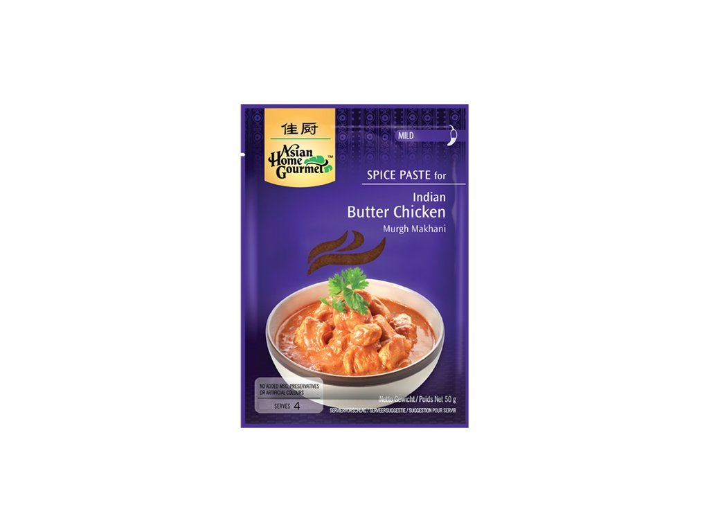 Murgh Makhani indické máslové kuře 50 g Asian Home Gourmet