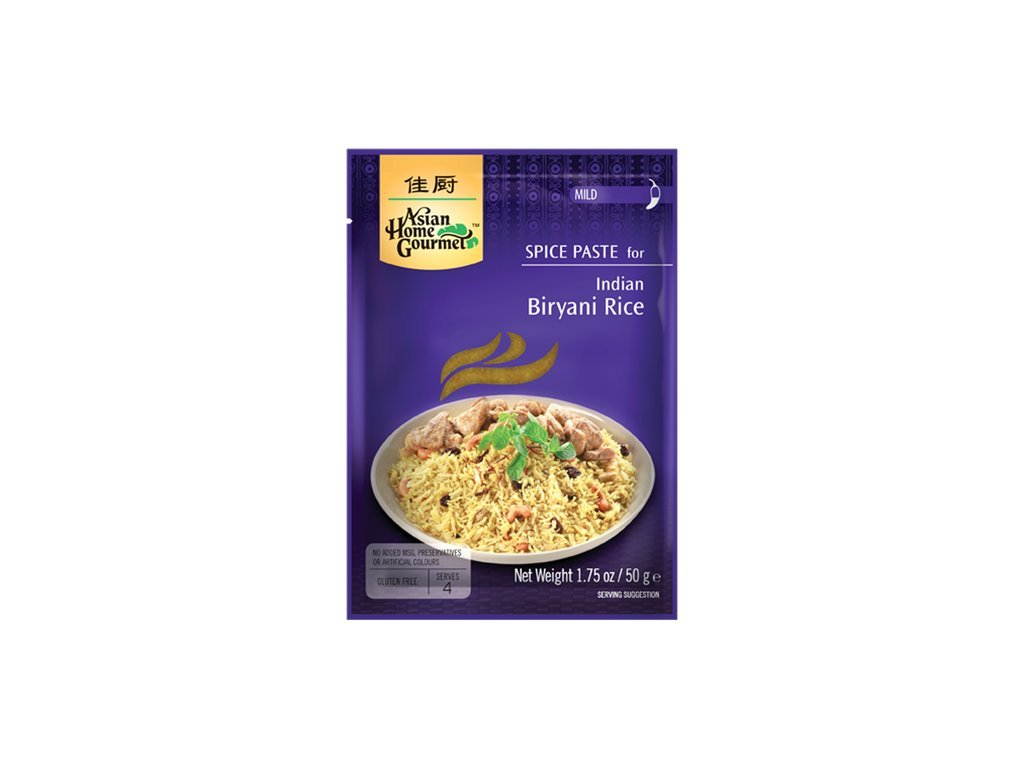 Indická Biryani rýže pasta 50 g