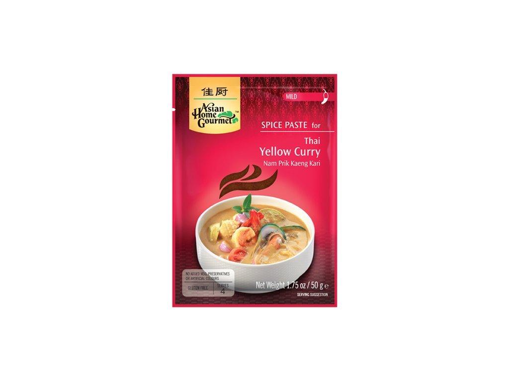 Thajské žluté kari pasta 50 g