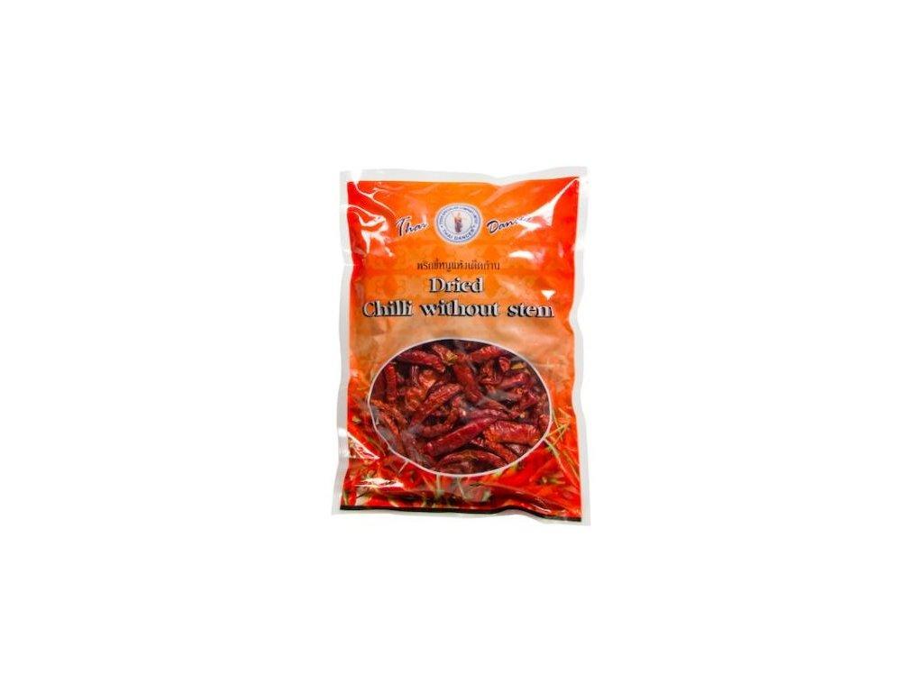Sušené chilli papričky bez stopky 75 g