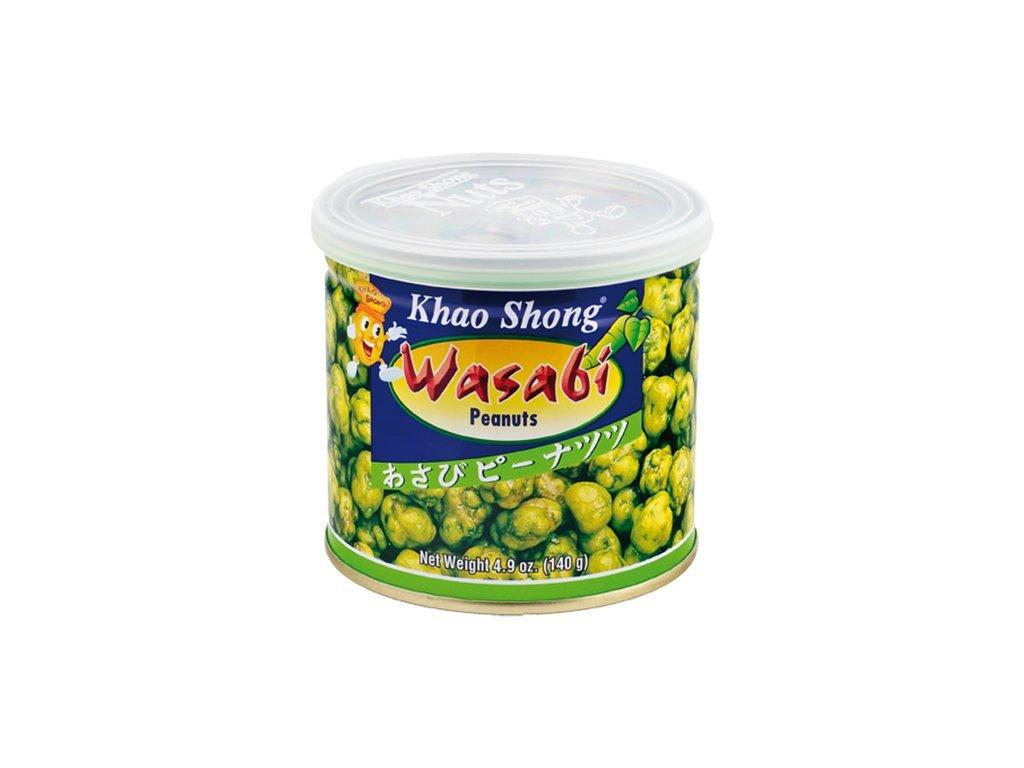 Arašídy s wasabi 140 g