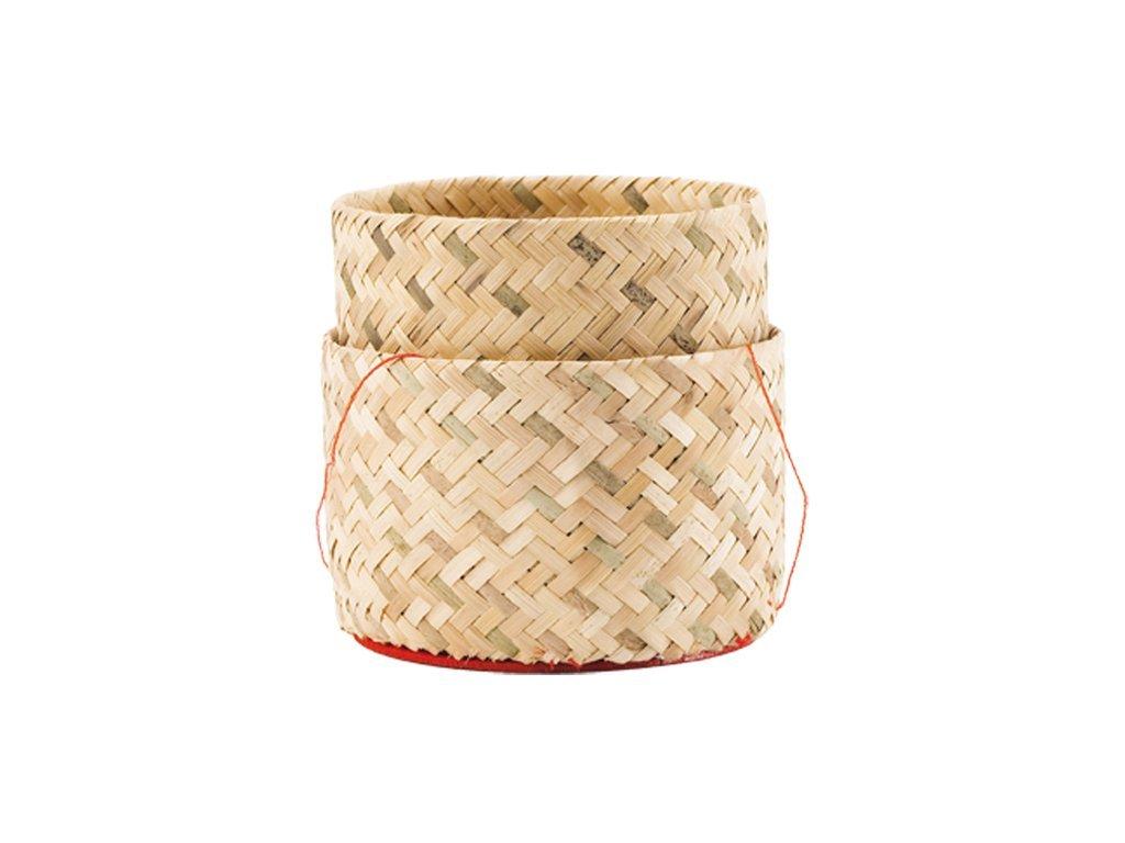 Bambusová nádoba na rýži 13 cm