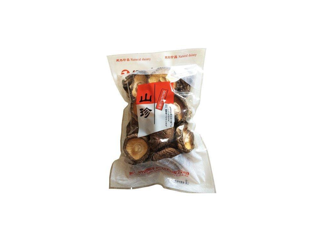 Houby Shiitake celé sušené 85g