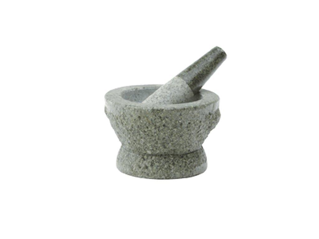 Hmoždíř žulový přírodní kámen 12 cm
