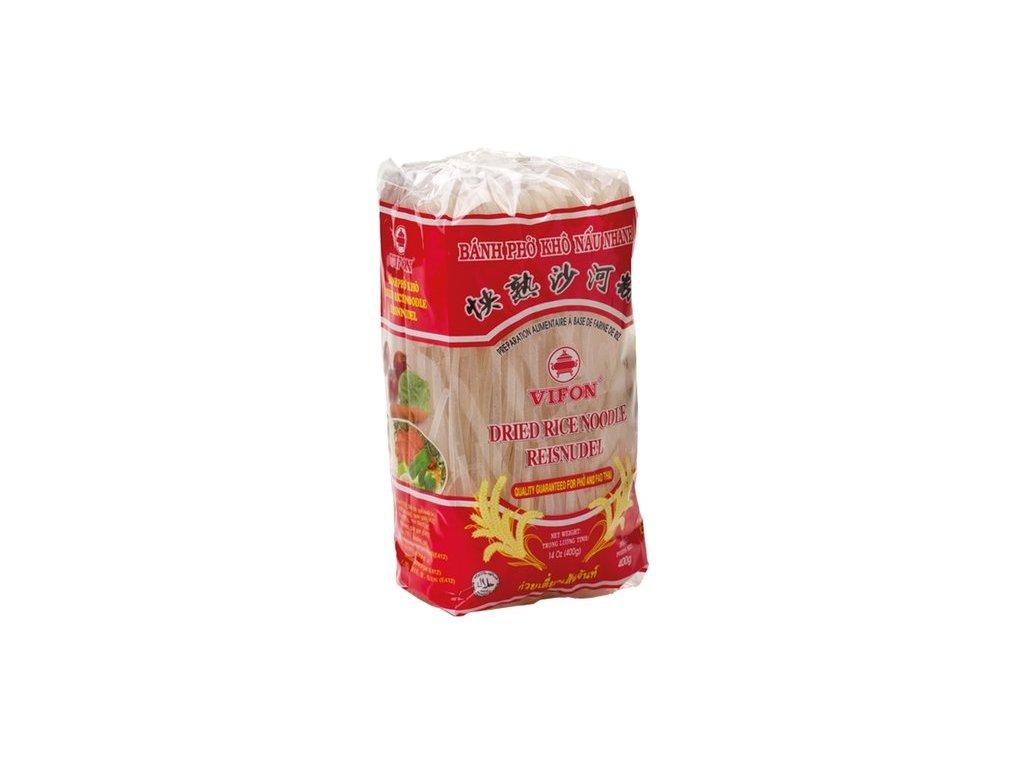 Rýžové nudle široké 400 g