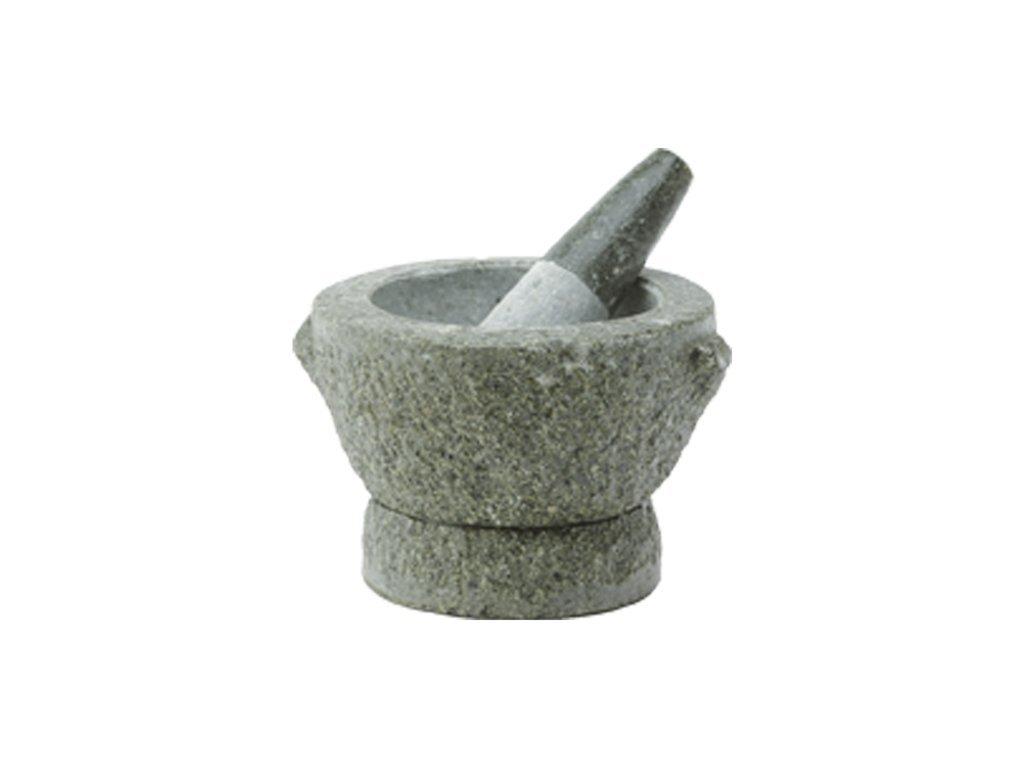 Hmoždíř žulový přírodní kámen 15 cm