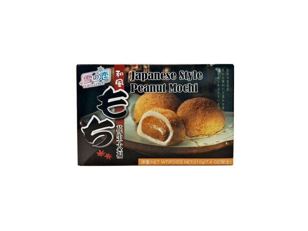 Japonské Mochi s arašídovou náplní 210 g