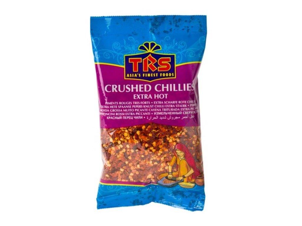 Chilli papričky drcené (vločky) 100 g