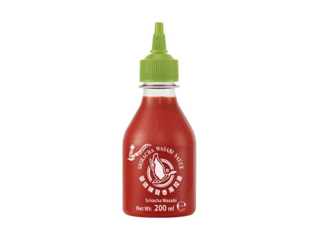 Sriracha chilli omáčka s wasabi 200 ml