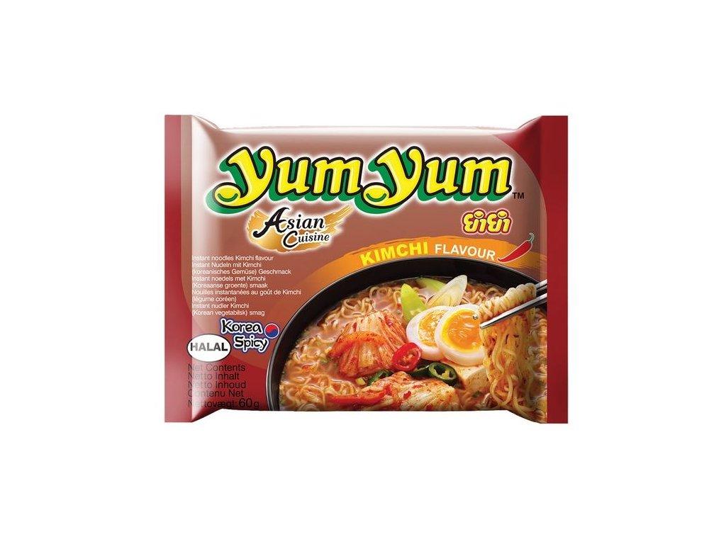 Instantní nudle Kimchi