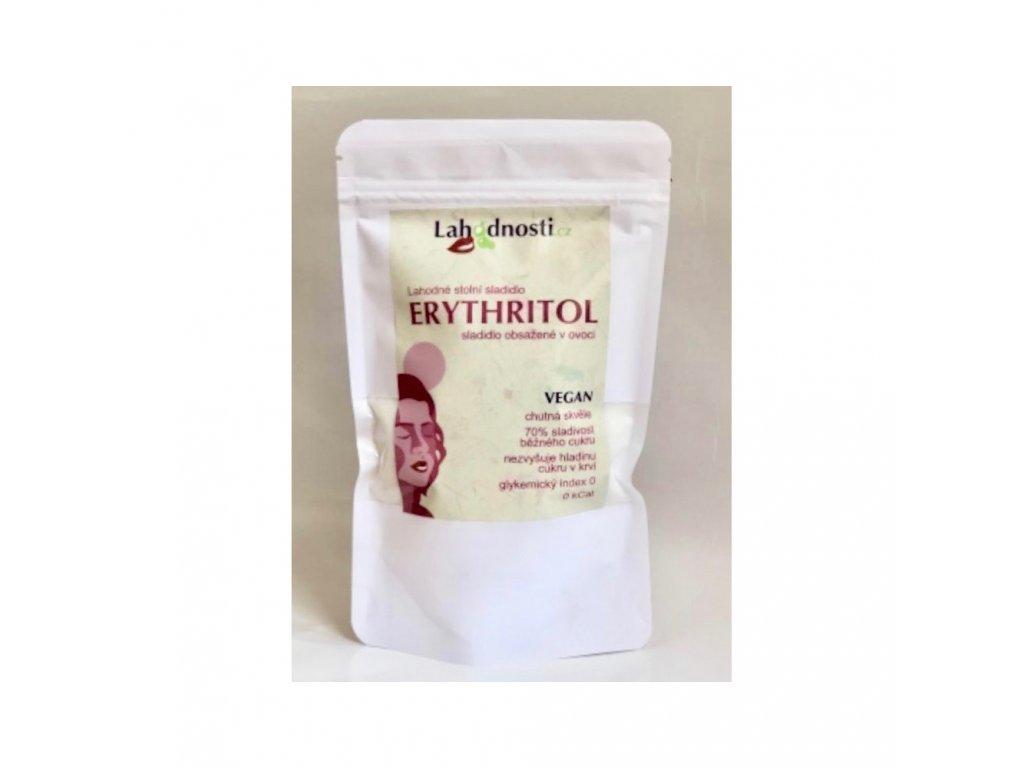 erythritol sladidlo obsazene v ovoci 200g