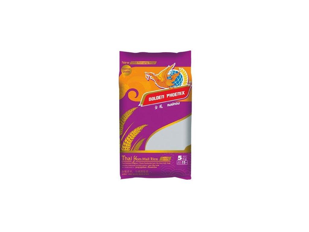 Jasmínová rýže thajská Golden Phoenix 5 kg